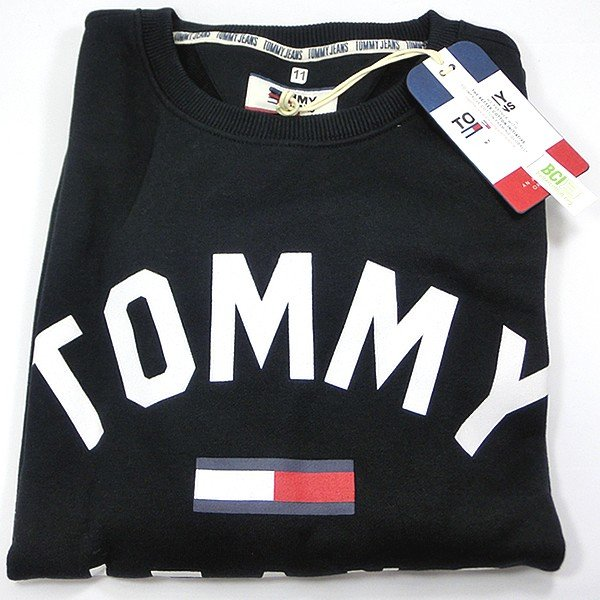 TOMMY JEANS トミー ジーンズ  メンズ スウェット トレーナー ESSENTIAL FLAG CREW  DM0DM07024 TOMMY HILFIGER pre-ma 11