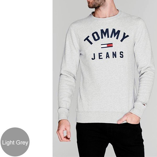 TOMMY JEANS トミー ジーンズ  メンズ スウェット トレーナー ESSENTIAL FLAG CREW  DM0DM07024 TOMMY HILFIGER pre-ma 03