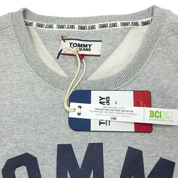TOMMY JEANS トミー ジーンズ  メンズ スウェット トレーナー ESSENTIAL FLAG CREW  DM0DM07024 TOMMY HILFIGER pre-ma 08