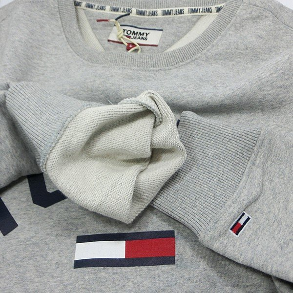 TOMMY JEANS トミー ジーンズ  メンズ スウェット トレーナー ESSENTIAL FLAG CREW  DM0DM07024 TOMMY HILFIGER pre-ma 09