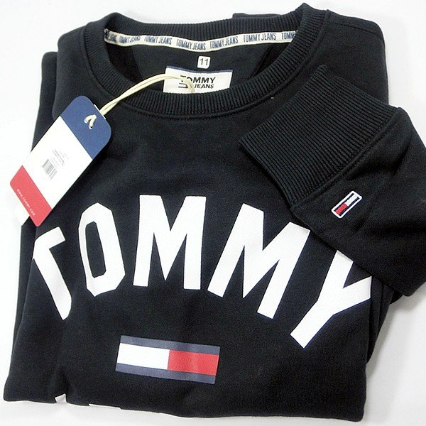 TOMMY JEANS トミー ジーンズ  メンズ スウェット トレーナー ESSENTIAL FLAG CREW  DM0DM07024 TOMMY HILFIGER pre-ma 10