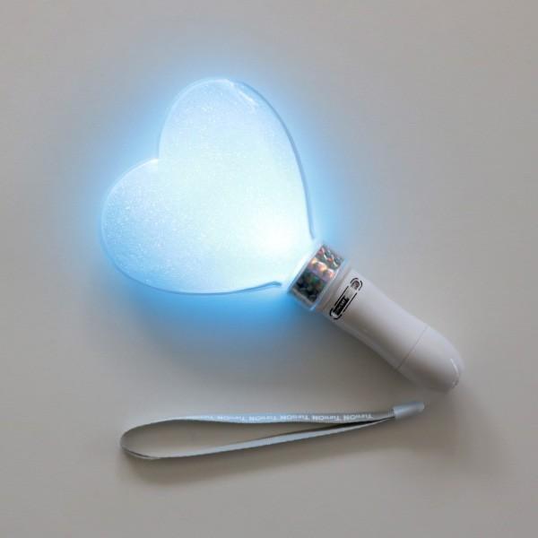 ペンライト ハート型 LED コンサート 24色 カラーチェンジ  単4型電池式 MIX PENLa (ミックス ペンラ) HB Deco 5LED ハート キラキラ ターンオン|pre-mart|04