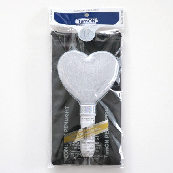 ペンライト ハート型 LED コンサート 24色 カラーチェンジ  単4型電池式 MIX PENLa (ミックス ペンラ) HB Deco 5LED ハート キラキラ ターンオン|pre-mart|09