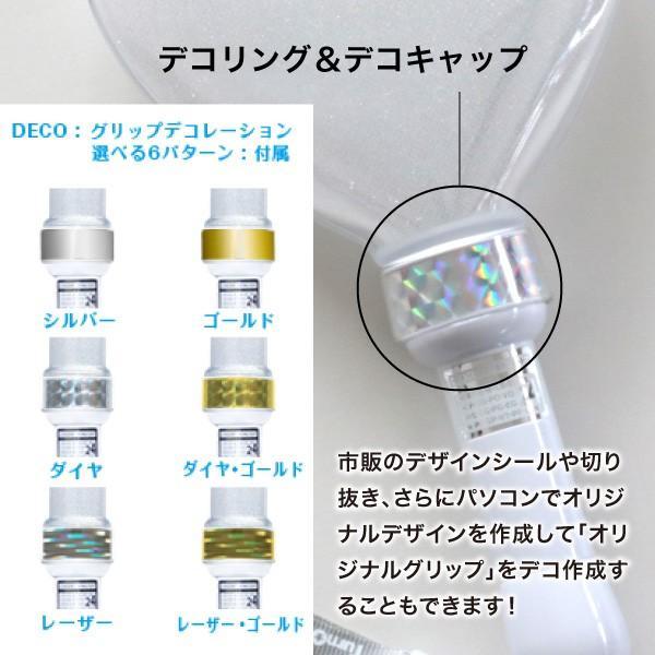 ペンライト ハート型 LED コンサート 24色 カラーチェンジ  ボタン電池式 MIX PENLa (ミックス ペンラ) PRO デコリング&デコキャップ ターンオン|pre-mart|05