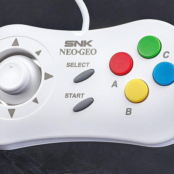 即納 NEOGEO mini PAD 単品 黒 白 コントローラー ネオジオミニパッド  white black 新品 SNK pre-mart 05
