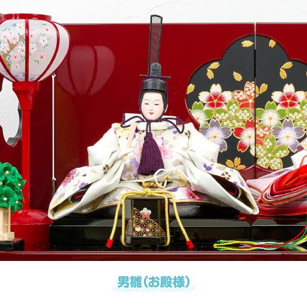 雛人形 収納飾り おしゃれ コンパクト ひな人形 春蕾|prefer|07