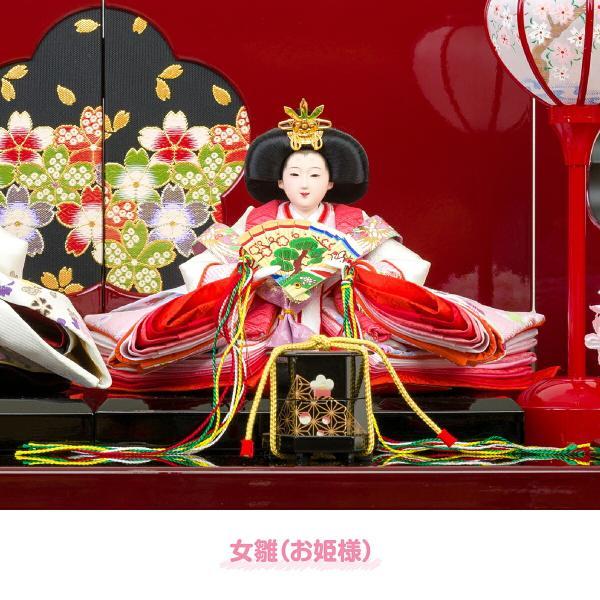 雛人形 収納飾り おしゃれ コンパクト ひな人形 春蕾|prefer|09