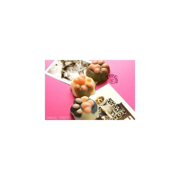 デザイン シリコンモールド / 肉球 パンチ    ( 犬 イヌ 猫 ネコ ねこ )|pregoo|04