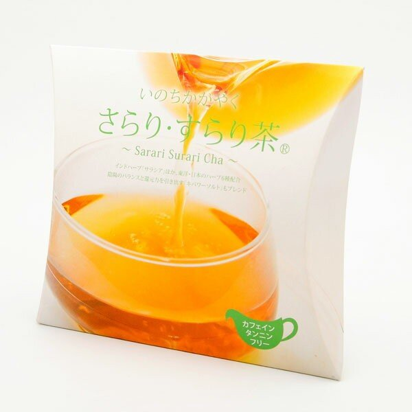 さらり・すらり茶 ピローパック(6g×6包)