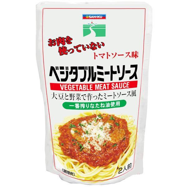 三育   ベジタブルミートソース トマトソース味 180g