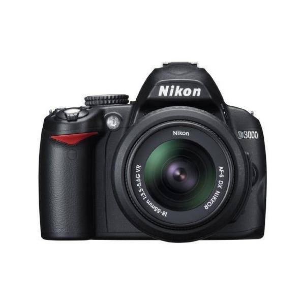 中古 1年保証 美品 Nikon D3000 レンズキット 18-55 VR