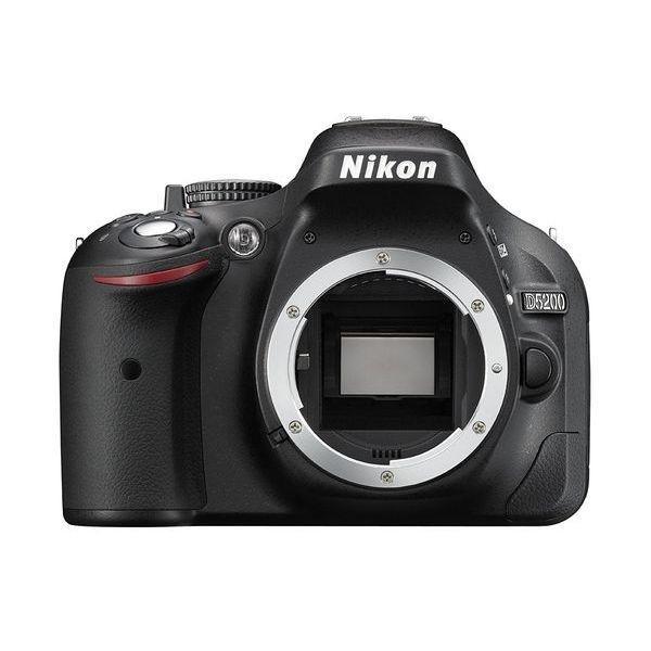 1年保証 美品 Nikon D5200 ボディ ブラック