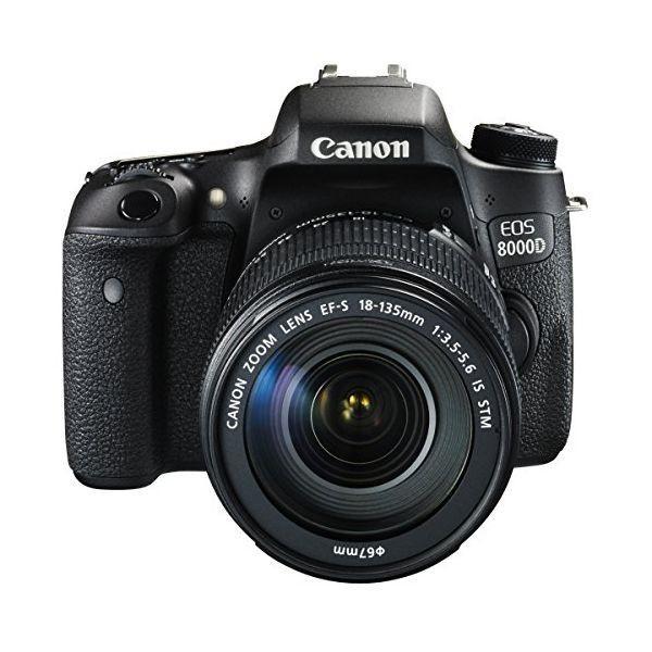 1年保証 美品 Canon EOS 8000D レンズキット 18-135mm IS STM