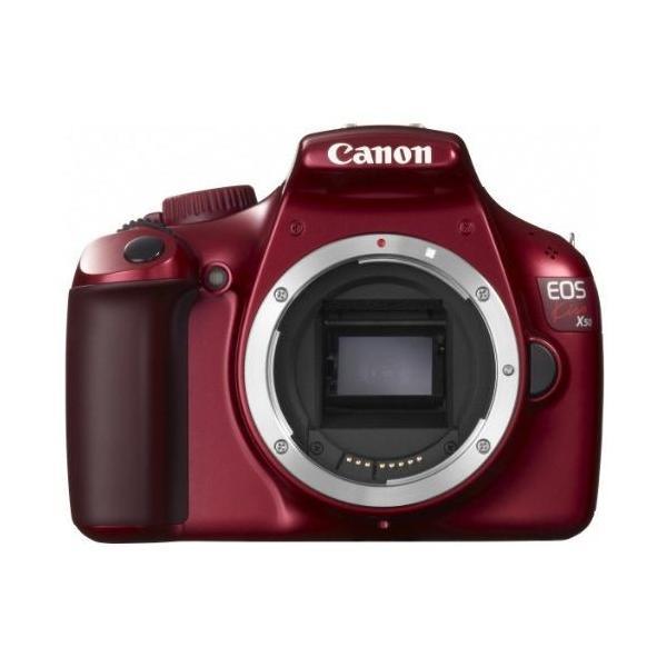 中古 1年保証 美品 Canon EOS Kiss X50 ボディ レッド