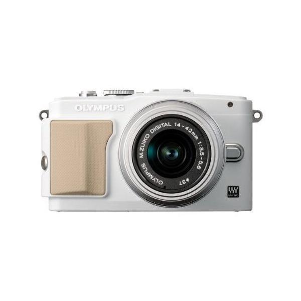 中古 1年保証 美品 OLYMPUS PEN Lite E-PL5 レンズキット ホワイト