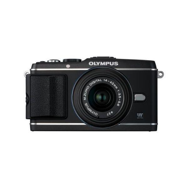 中古 1年保証 美品 OLYMPUS PEN E-P3 レンズキット ブラック