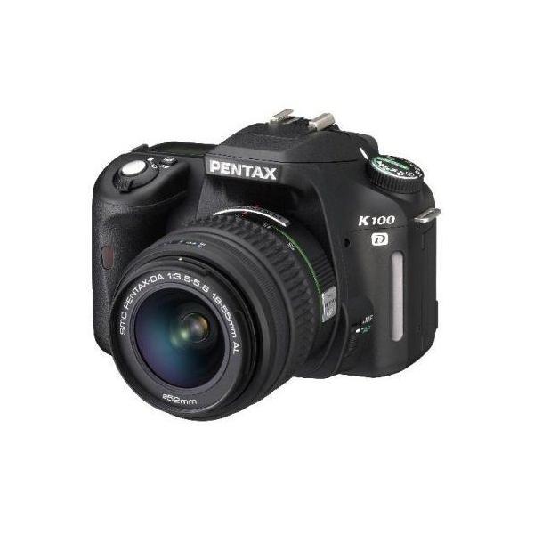 中古 1年保証 美品 PENTAX K100D DA 18-55mm F3.5-5.6 AL 付属