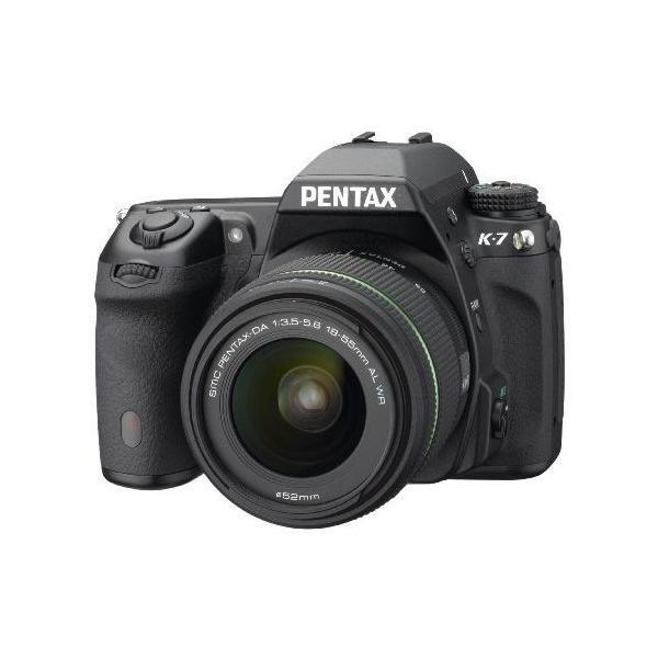 中古 1年保証 美品 PENTAX K-7 レンズキット DA 18-55mm WR