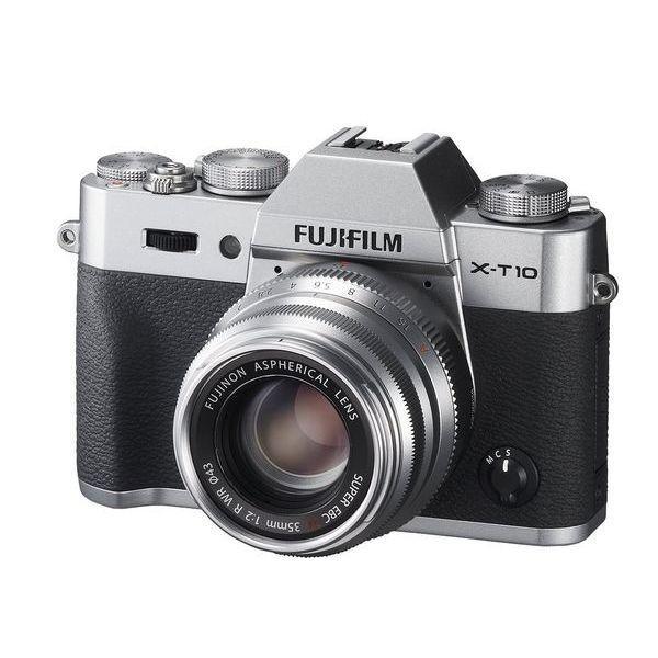 中古 1年保証 美品 FUJIFILM X-T10 35mm F2 レンズキット シルバー ...