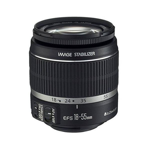 中古 1年保証 美品 Canon 標準ズームレンズ EF-S 18-55mm F3.5-5.6 IS