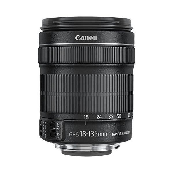 中古 1年保証 美品 Canon 標準ズーム EF-S 18-135mm F3.5-5.6 IS STM