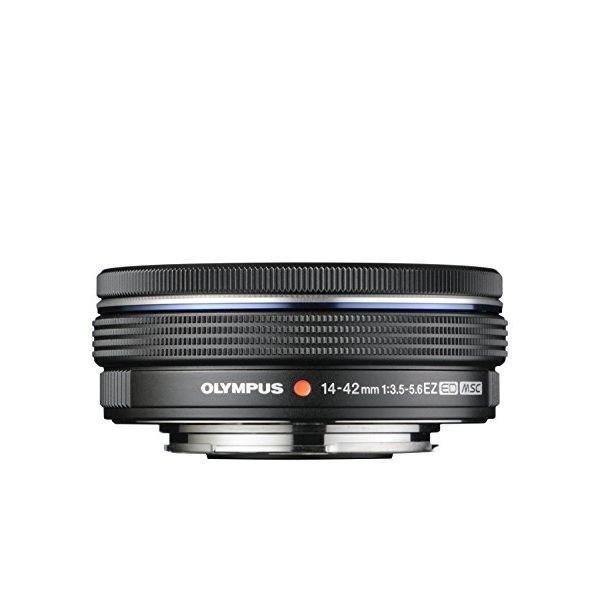 中古 1年保証 美品 OLYMPUS M.ZUIKO DIGITAL ED 14-42mm F3.5-5.6 EZ ブラック|premierecamera|02