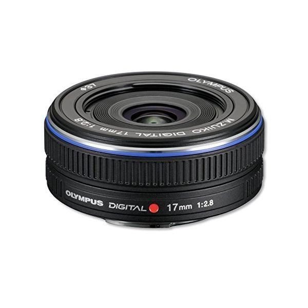 中古 1年保証 美品 OLYMPUS M.ZUIKO DIGITAL 17mm F2.8 ブラック