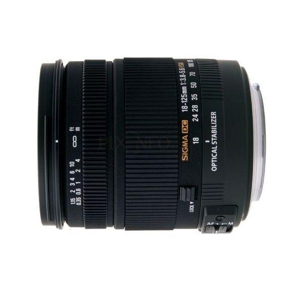 中古 1年保証 美品 SIGMA 18-125mm F3.8-5.6 DC OS HSM キヤノン