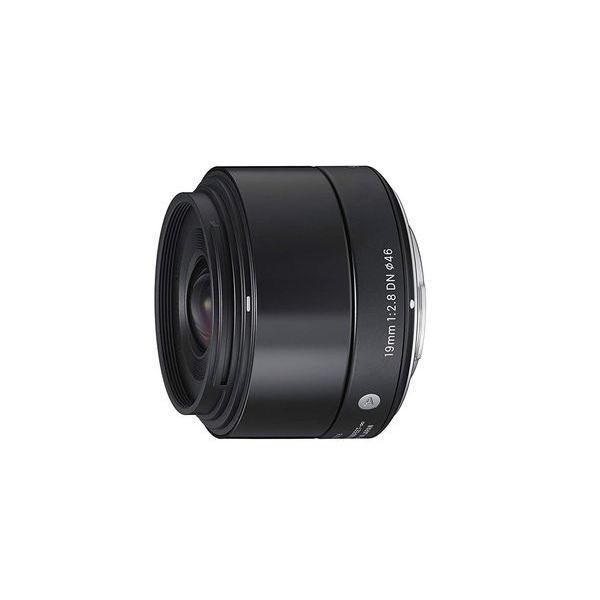中古 1年保証 美品 SIGMA Art 19mm F2.8 DN ブラック ソニーE