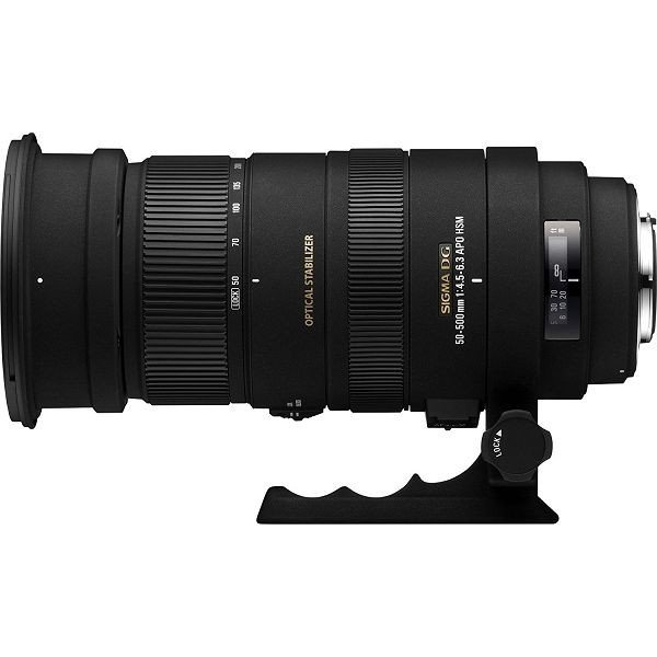 1年保証 美品 SIGMA APO 50-500mm F4.5-6.3 DG OS HSM ニコン