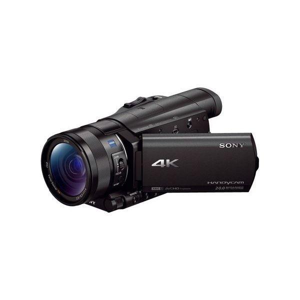 中古 1年保証 美品 SONY ビデオカメラ AX100 デジタル4K|premierecamera