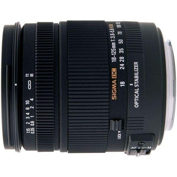 中古 1年保証 美品 SIGMA 18-125mm F3.8-5.6 DC OS HSM ニコン