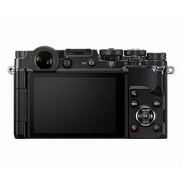 中古 1年保証 美品 OLYMPUS PEN-F 12mm F2.0 レンズキット ブラック|premierecamera|02