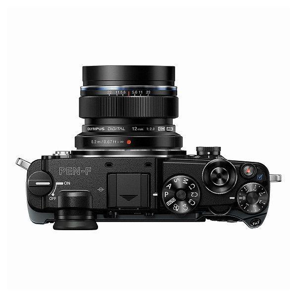 中古 1年保証 美品 OLYMPUS PEN-F 12mm F2.0 レンズキット ブラック|premierecamera|03