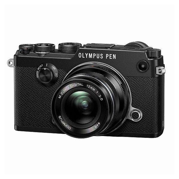 中古 1年保証 美品 OLYMPUS PEN-F 12mm F2.0 レンズキット ブラック|premierecamera|04