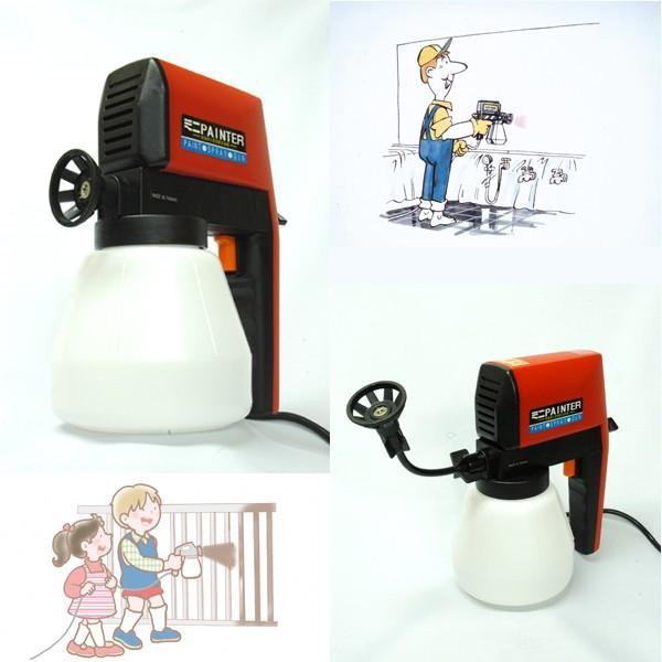 送料無料!電動ミニペインター(簡単ペンキ塗り,電動吹付スプレータイプ,ペンキ塗り機,素人でもできるペンキ塗り)|premium-pony|02