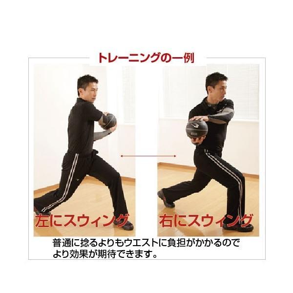 メディシンボール「5kg」(トレーニング/インナーマッスル/腹筋/ラバー/握りやすい) premium-pony 02