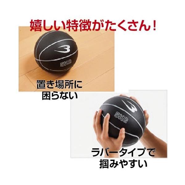 メディシンボール「5kg」(トレーニング/インナーマッスル/腹筋/ラバー/握りやすい) premium-pony 03