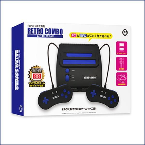 6f3bc91786043 ... FC/SFC互換機「レトロコンボ」(ファミコン スーパーファミコン ゲーム ソフト 88種類