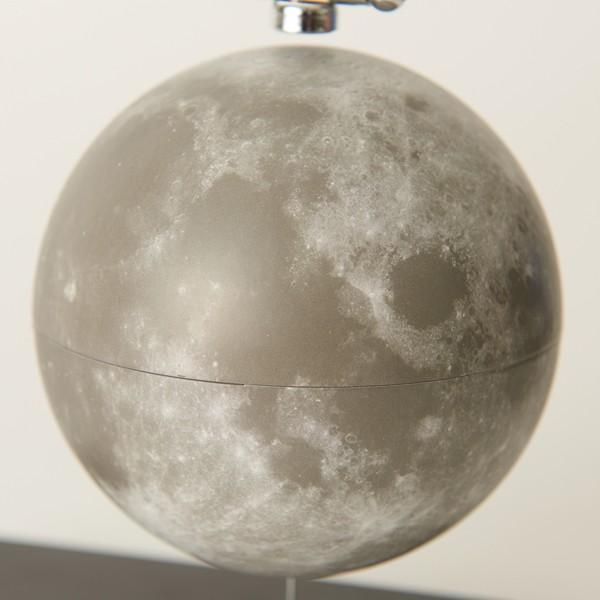 フローティング月球儀 (浮かぶ月球儀 磁力 インテリアオブジェ 回転 Fun Science ファンサイエンス 球儀シリーズ 天体 宇宙 月グッズ)|premium-pony|04
