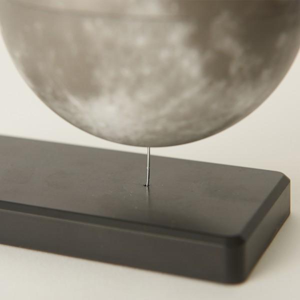 フローティング月球儀 (浮かぶ月球儀 磁力 インテリアオブジェ 回転 Fun Science ファンサイエンス 球儀シリーズ 天体 宇宙 月グッズ)|premium-pony|06