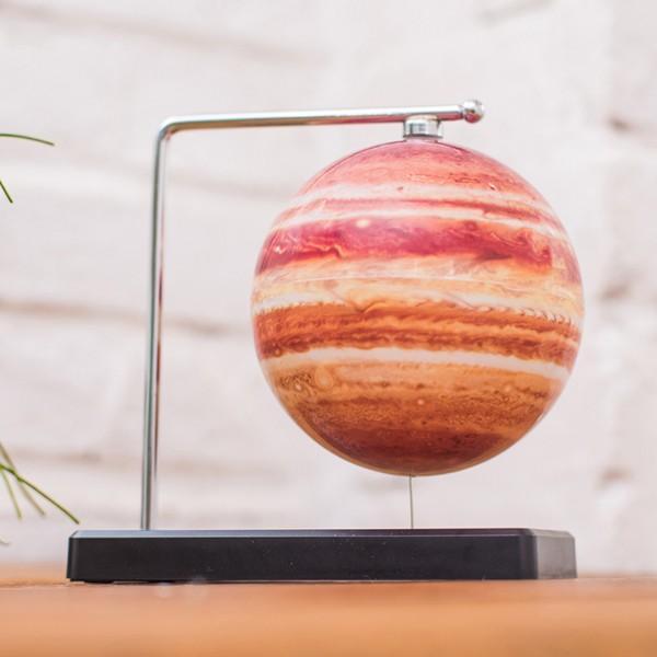 フローティング木星儀 (浮かぶ木星儀 卓上インテリア 磁力 インテリアオブジェ 回転 Fun Science ファンサイエンス 球儀シリーズ 天体)|premium-pony|02