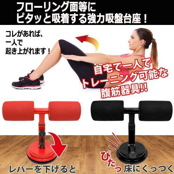 腹筋エクササイズ「シットアップアシスト」(ながらトレーニング 体幹トレーニング 腕立て伏せ 設置 持ち運び 足 効果的 フローリング)|premium-pony|02