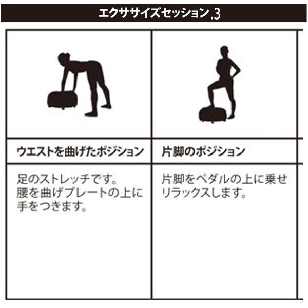 ボディコア振動「バイブレーションスタンド」(送料無料 全身 ストレッチ エクササイズ TV通販 乗るだけ 脂肪 ダイエット)|premium-pony|07