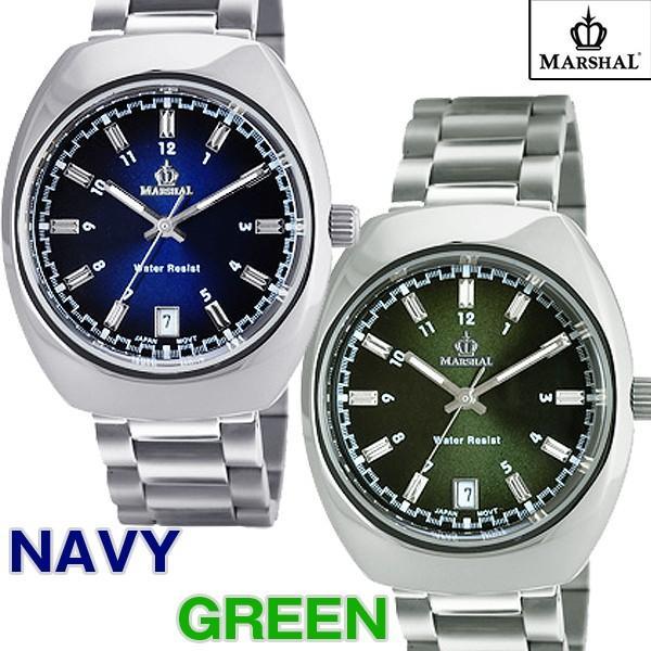 マーシャル腕時計MRZ015(メンズウォッチ、MARSHAL,5気圧防水,ビジネス,日付表示付き)|premium-pony|03