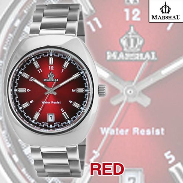 マーシャル腕時計MRZ015(メンズウォッチ、MARSHAL,5気圧防水,ビジネス,日付表示付き)|premium-pony|04
