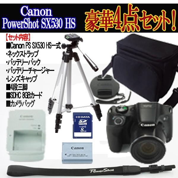 キヤノンPowerShot SX530 HS[豪華4点セット]( 画素 撮影 モニター 手ブレ 光学 Wi-Fi NFC カメラ ズーム キャノン )|premium-pony|10