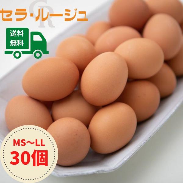 こだわり家族のこだわり卵 30個入り セラ・ルージュ