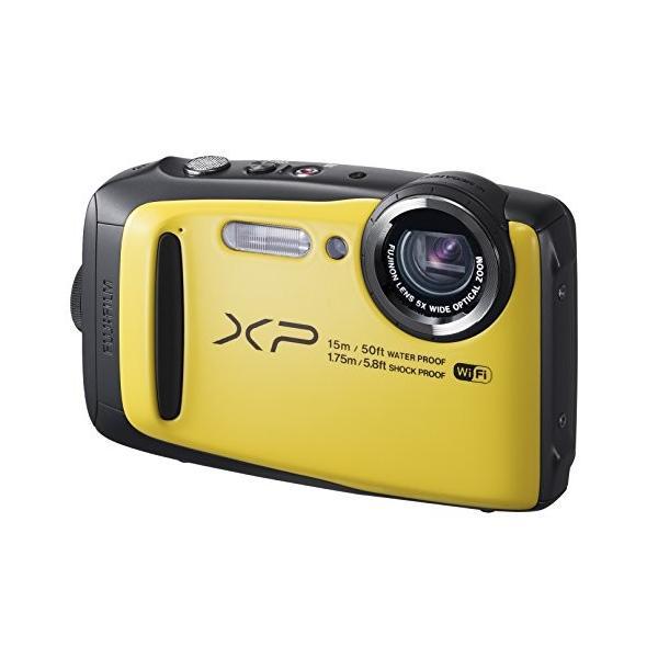 FUJIFILM デジタルカメラ XP90 防水 イエロー FX-XP90Y
