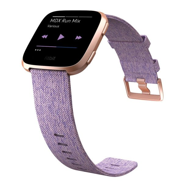 Fitbit フィットビット スマートウォッチ Versa iOS/android対応 バッテリーライフ4日以上 睡眠ステージ記録 歩数&距